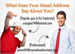 Ce spune adresa ta de email despre tine