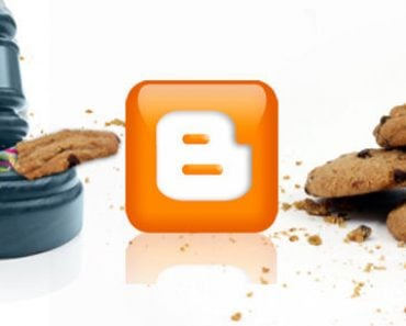 Cum modifici / ștergi din blogger bara de notificare despre cookies 5
