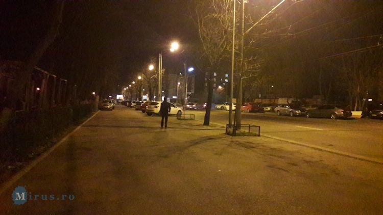Strada Turnu Magurele Noaptea