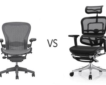Dacă ai avea de ales între scaunul Aeron și scaunul Ergohuman, tu pe care l-ai alege? 22