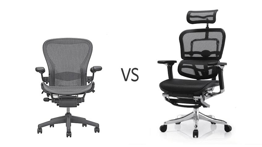 Aeron vs Ergohuman