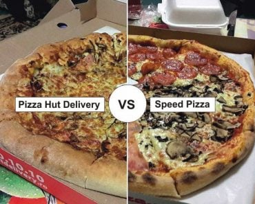 Pizza Hut Delivery vs Speed Pizza 4