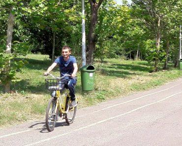 Plimbare cu bicicleta prin parcul Tineretului 2