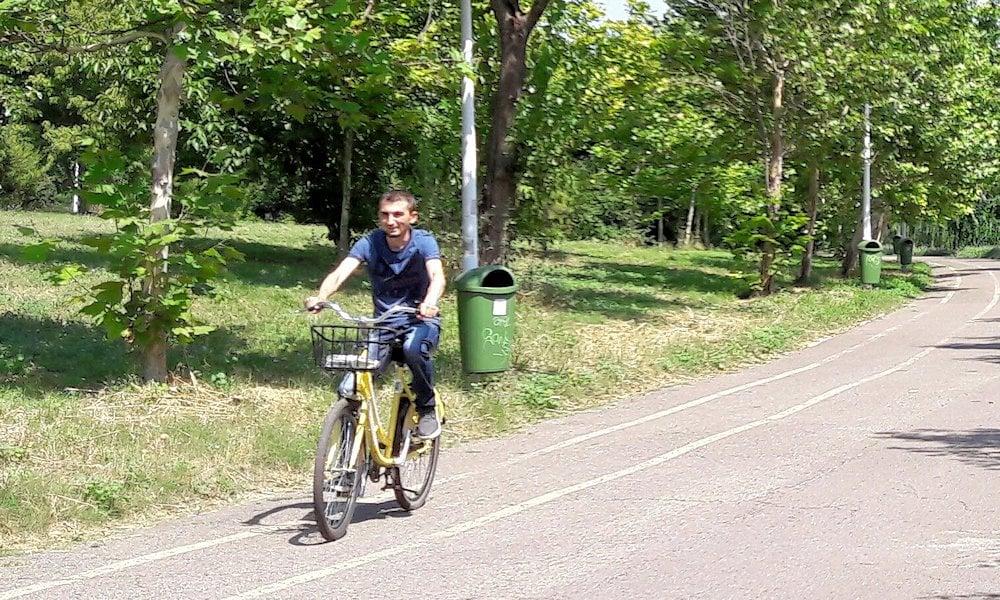 Plimbare cu bicicleta prin parcul Tineretului 4