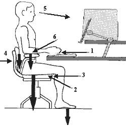 Scaunul de birou și durerile de spate care pot să apară dacă nu-l folosim corect 3
