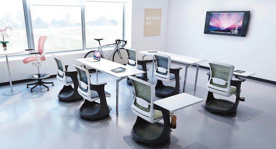 Gama de scaune Skate, o opțiune excelentă pentru spațiile de birouri de tip open space 3