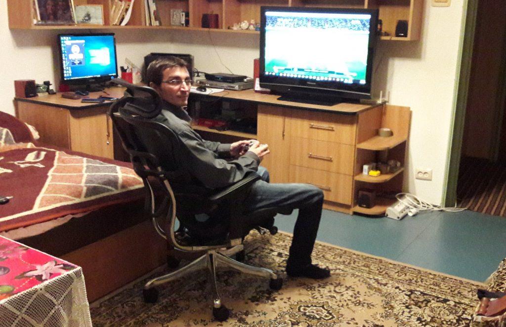Păreri și impresii despre scaunul Ergohuman 1