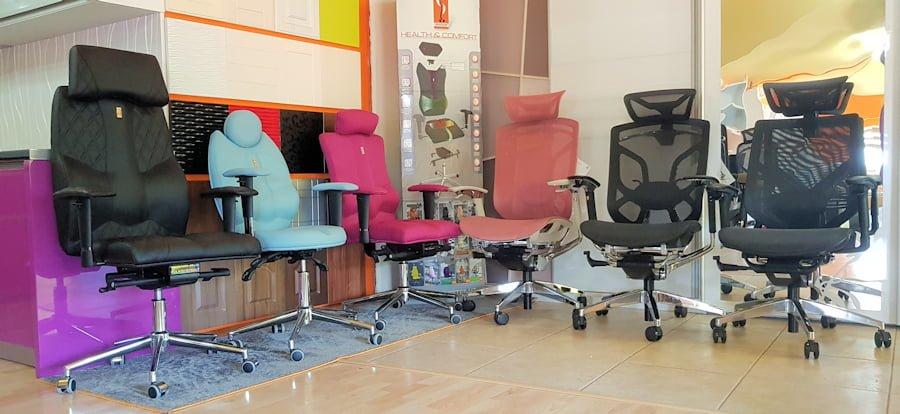 Showroom scaune Ergohuman.ro