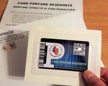 Locuitorii sectorului 4 au început să primească cardurile pentru parcările de reședință, prin serviciul poștal al PinkPost 1