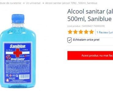 Alcool Sanitar, Spirt Sanitol