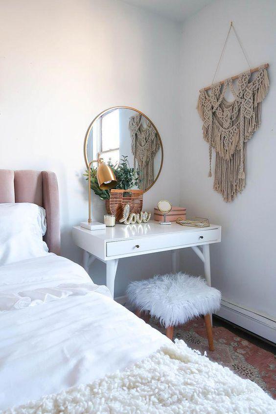Plinta albă - tușa modernă a dormitorului tău. 5 amenajări care îți demonstrează acest lucru 1