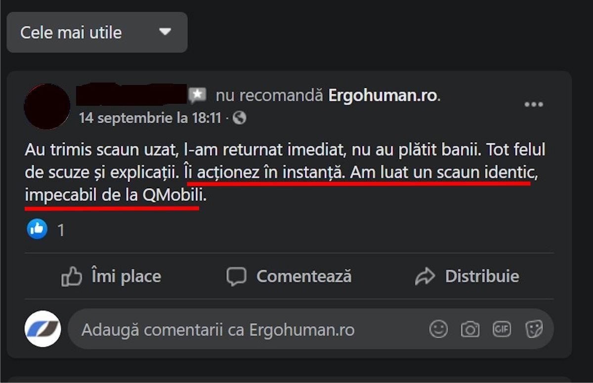 STAICU IONUT BOGDAN PFA [DevForum.ro] și PONTICA TRAVEL SRL, denigrare cu acuzații false și nefondate împotriva Ergohuman.ro 18
